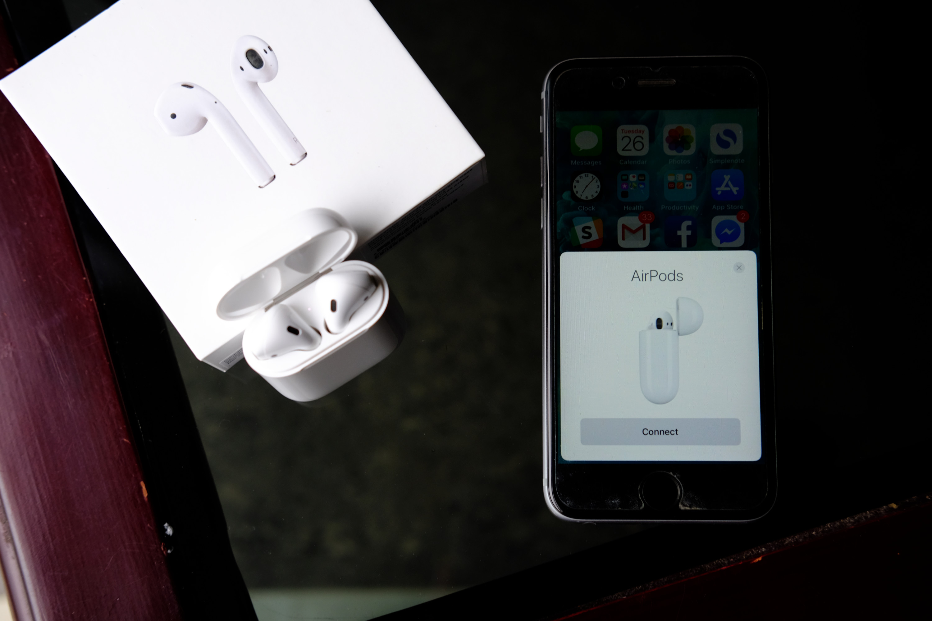 apple airpods pairing