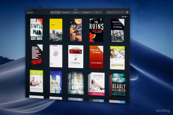 apple books on mac